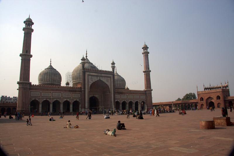 Jama Masjid Mosque in Chandi Chowk, Delhi