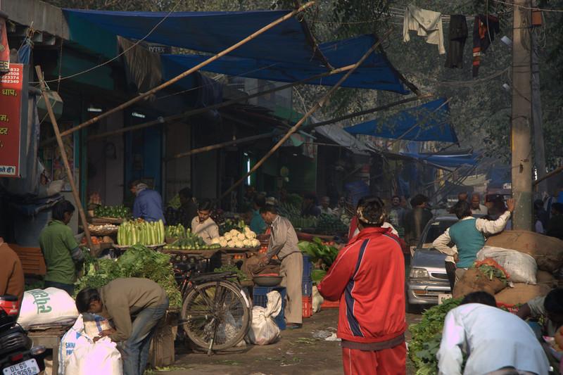 market,  in the Paharganj area, New Delhi