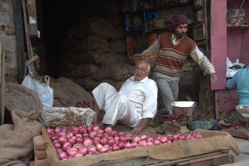 in the Paharganj area, New Delhi