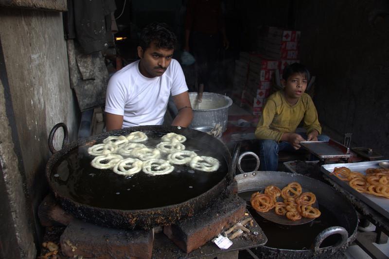 breakfast,  in the Paharganj area, New Delhi
