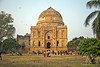 Shisha Gumbad is a tomb at Lodhi Gardens dating around 1489 to 1517 CE