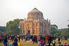 Lodi Garden's Shisha Gumbad ~ Families enjoying activities, New Delhi