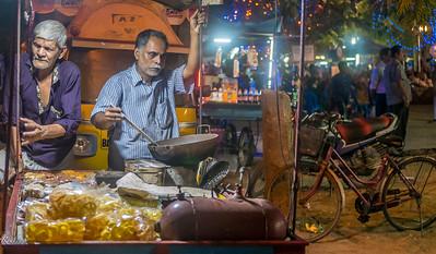Snack sellers