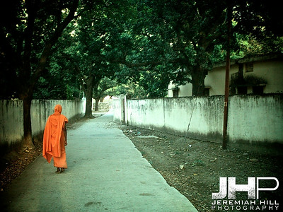 """Orange"",  Rishikesh, Uttaranchal, India, 2005 Print INDIA11-126V2"