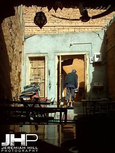 """Desert Cafe"", Jaisalmer, Rajasthan, India, 2005 Print INDIA9B-135"