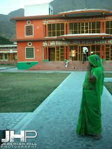 """""""Mourning Krishna"""", Ved Niketan Ashram, Rishikesh, Uttaranchal, India, 2005 Print INDIA12-38"""