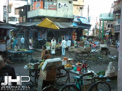 """Intersection"", Varanasi, Uttar Pradesh, India, 2005 Print INDIA8-9"