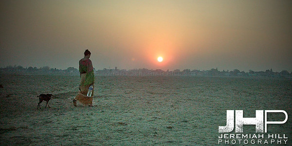 """Going Home"", Varanasi, Uttar Pradesh, India, 2005 Print INDIA8-66V4"