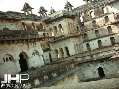 """Palace Corner"", Orchha, Madhya Pradesh, India, 2005 Print INDIA8-238"