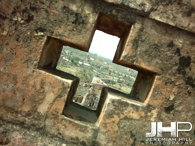 """Way Of The Cross"", Palace wall, Orchha, Madhya Pradesh, India,2005 Print INDIA8-237"