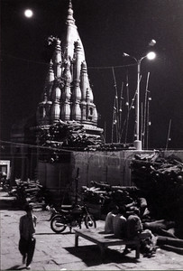 Night time in Varanasi