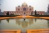 Humayun's Tomb, a complex of Mughal architecture built as Mughal Emperor Humayun's tomb built in 1570.