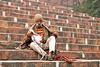 Man waiting for Jama Masjid Mosque prayers