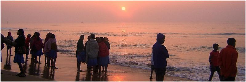 Восход солнца на Бенгальском заливе