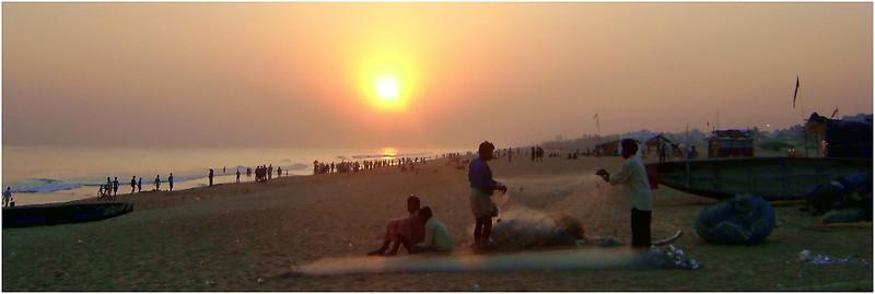 Пури. Бенгальский залив