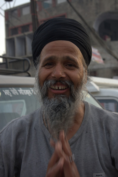 He had just finished washing his beard and face, very good natuered and funny, (Feb 2011) in Amritsar the Punjab. Amritsar, The Punjab,An interesting town, made special by the lovely Sikh Golden Temple