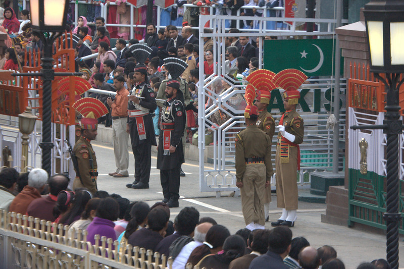 The Wagah crossing s only about 40mins from Amritsar and great fun. Get there early for the ceremony.