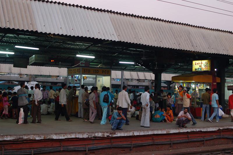 Leaving New Delhi train station, heading for Amritsar.