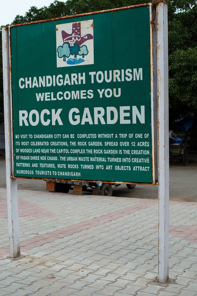 Entrance to the Nek Chand Rock Garden