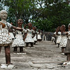 Sculptures in the Nek Chand Rock Garden