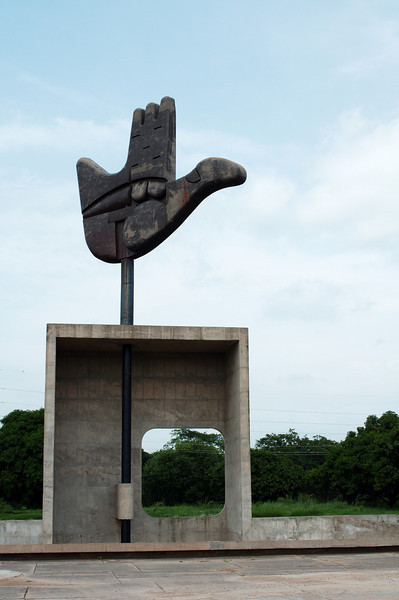 "The ""Open Hand"" sculpture by Le Corbusier"