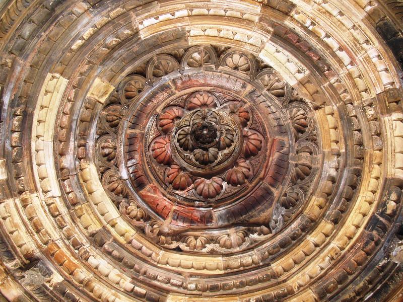 Ceiling in Qutub Minar Complex