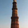 "The Qutub Minar is the largest freestanding brick minaret in the world. It is 239 feet high and 14.3 meters in diameter at the base. It's a prime example of Indo-Islamic architecture.<br /> <br /> Because I'm not sure if you'll click a link to learn more, here's some info from Wiki:<br /> <br /> ""Inspired by the Minaret of Jam in Afghanistan and wishing to surpass it, Qutb-ud-din Aibak, the first Muslim ruler of Delhi, commenced construction of the Qutub Minar in 1193, but could only complete its base. His successor, Iltutmish, added three more stories and, in 1368, Firuz Shah Tughluq constructed the fifth and the last story. The development of architectural styles from Aibak to Tuglak are quite evident in the minaret. Like earlier towers erected by the Ghaznavids and Ghurids in Afghanistan, the Qutub Minar comprises several superposed flanged and cylindrical shafts, separated by balconies carried on Muqarnas corbels. The minaret is made of fluted red sandstone covered with intricate carvings and verses from the Qur'an. The Qutub Minar is itself built on the ruins of Lal Kot, the Red Citadel in the city of Dhillika, the capital of the Tomars and the Chauhans, the last Hindu rulers of Delhi.<br /> <br /> The purpose for building this monument has been variously speculated upon. It could take the usual role of a minaret, calling people for prayer in the Quwwat-ul-Islam mosque, the earliest extant mosque built by the Delhi Sultans. Other possibilities are a tower of victory, a monument signifying the might of Islam, or a watch tower for defense. Controversy also surrounds the origins for the name of the tower. Many historians believe that the Qutub Minar was named after the first Turkish sultan, Qutb-ud-din Aibak but others contend that it was named in honour of Qutbuddin Bakhtiar Kaki, a saint from Baghdad who came to live in India and was greatly venerated by Iltutmish.""<br /> <br /> <a href=""http://en.wikipedia.org/wiki/Qutub_minar"">http://en.wikipedia.org/wiki/Qutub_minar</a>"