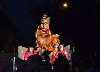 Dussehra procession