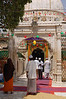 Inside the Dargah.