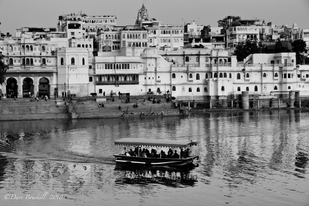 Black-White-Udaipur-Rajasthan-India