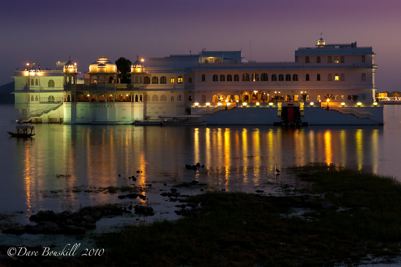Favorite Lake Palace in Udaipur, India at Magic Hour.
