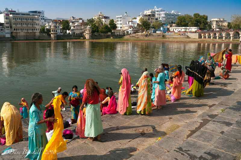 The Ghats in Udaipur, India