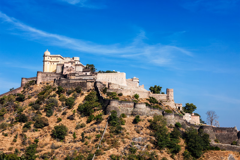Kumbhalgrh fort. Rajasthan, India