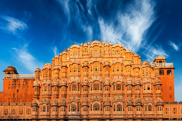 Hawa Mahal (Palace of the Winds), Jaipur, Rajasthan