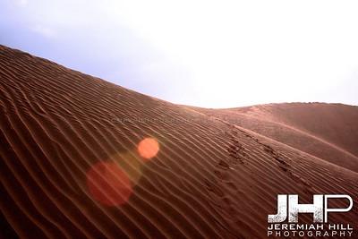 """""""Desert Tracks #2"""",  Thar Desert, Rajashtan, India, 2007 Print IND3926-136V5"""