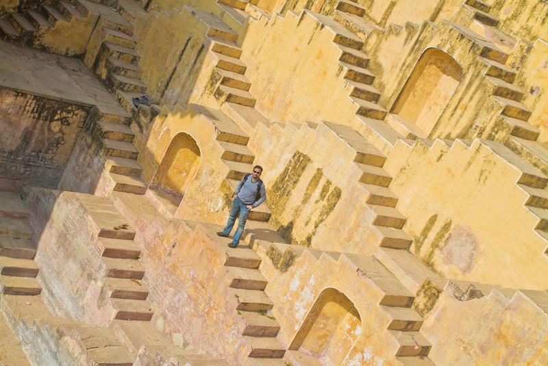 Bawri Near Aamer fort, Jaipur
