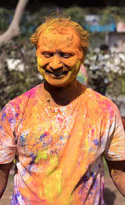 Holi Smeared Happily
