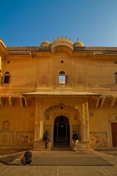 Basking? Nahargarh Fort, Jaipur