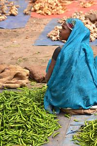 on the veggie market