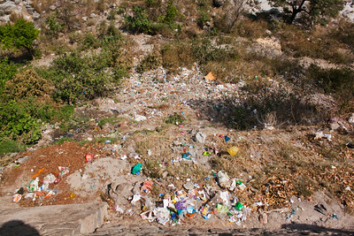 Trash... Rishikesh, India