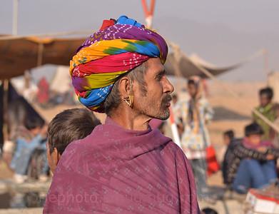 a classic Rajasthani profile