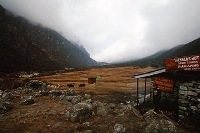 Trekkers hut at Thangshing