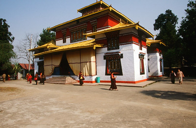 Enchey Monastery about 200 years old, near Gangtok