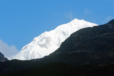 Rathong (6,679 m), from Dzongri
