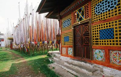 Tashiding Monastery built in the 18th century