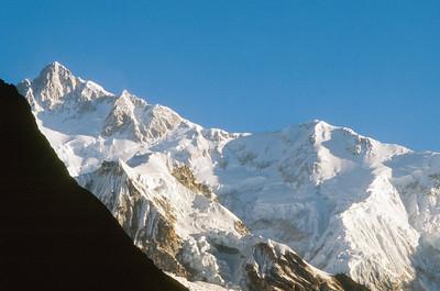 Kangchenjunga at sunrise, from Thangshing
