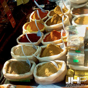 """Wednesday Market Spices"", Anjuna Beach, Goa, India, 2004 Print INDIA4-72"