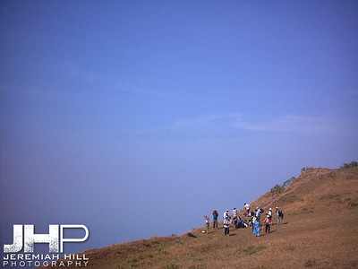 """The Edge Of The Sky"", Madikeri, Karnataka, India, 2004 Print INDIA5-154"