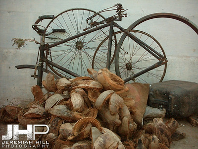 """Bicycle Parts"", Mysore, Karnataka, India, 2005 Print INDIA6-207"