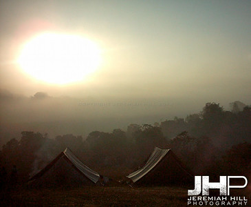 """Early Riser"", treking, Madikeri, Karnataka, India, 2004 Print INDIA5-24"